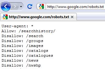 Robot txt как сделать